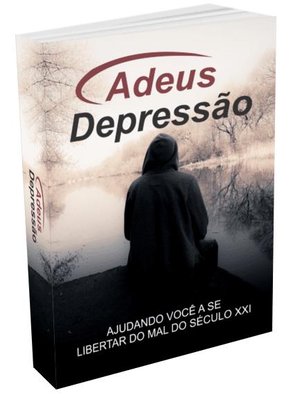 ebook plr Capa Adeus depressão